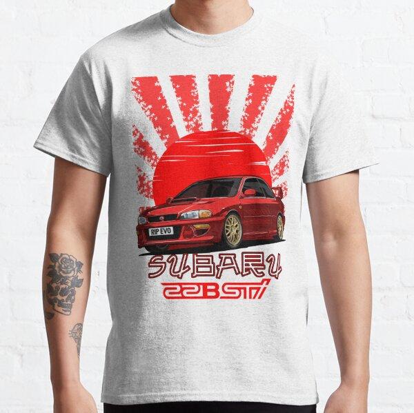 Impreza 22B WRX STI - R.I.P. EVO (Red) Classic T-Shirt
