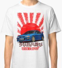 Subaru Impreza 22B WRX STI - RIP EVO (Blau) Classic T-Shirt