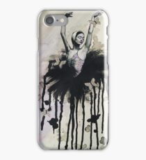 Ink and paper butterflies iPhone Case/Skin