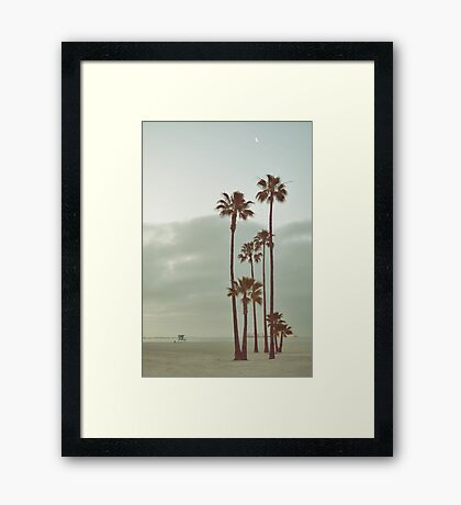 Morning Vacancy Framed Print