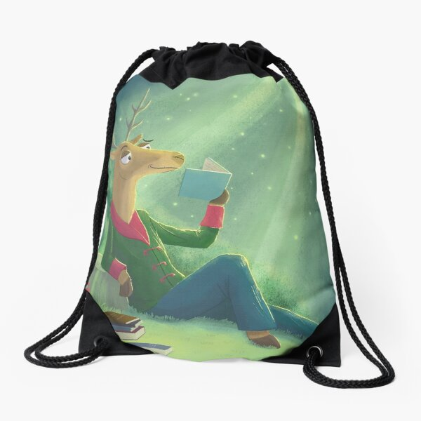 World Buck Day Drawstring Bag