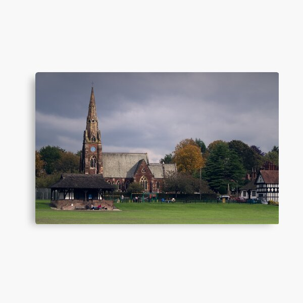 Thornton Hough All Saints Church Canvas Print
