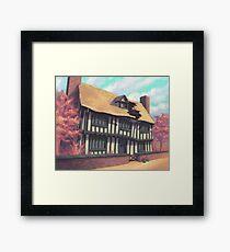 Tranquil house Framed Print