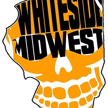 Whiteside Running Illinois by ewhiteside1