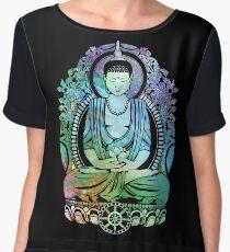Gautama Buddha Cool Galaxy Women's Chiffon Top