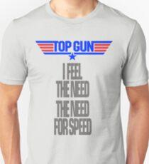 TOPGUN - NEED SPEED Unisex T-Shirt