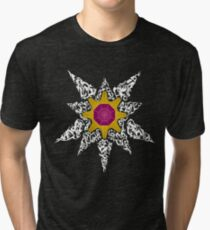 Pokemon Tribal - Starmie Pokemon Tri-blend T-Shirt