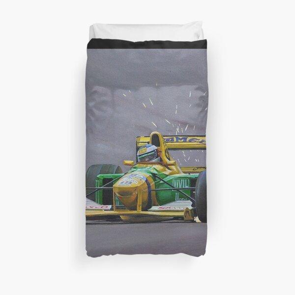 Spa 1992, Schumacher, Benetton B192 - Obra de Eder Costa Barcellos Funda nórdica
