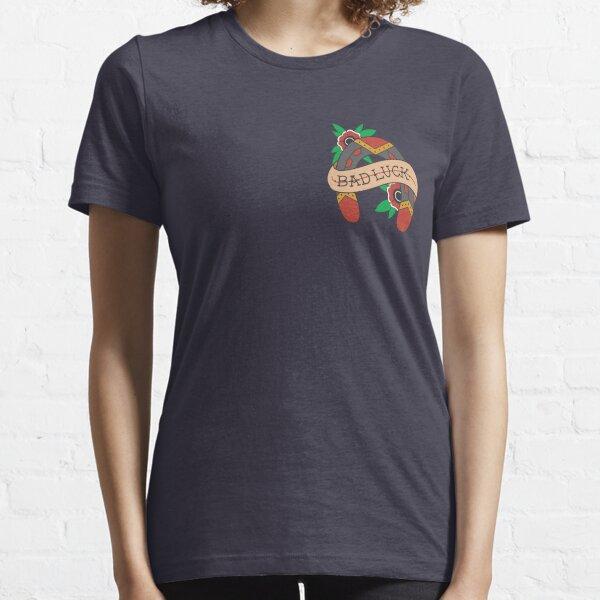 Bad Luck Horseshoe Camiseta esencial