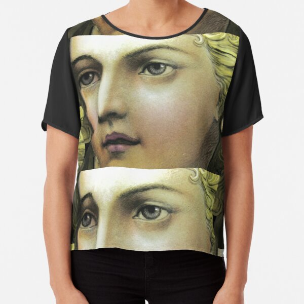 angels are seeing you Chiffon Top