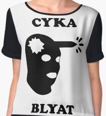 Cyka Blyat Chiffon Top