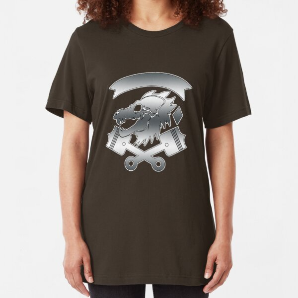 Forsaken Lodge: Thousand Steel Teeth Slim Fit T-Shirt