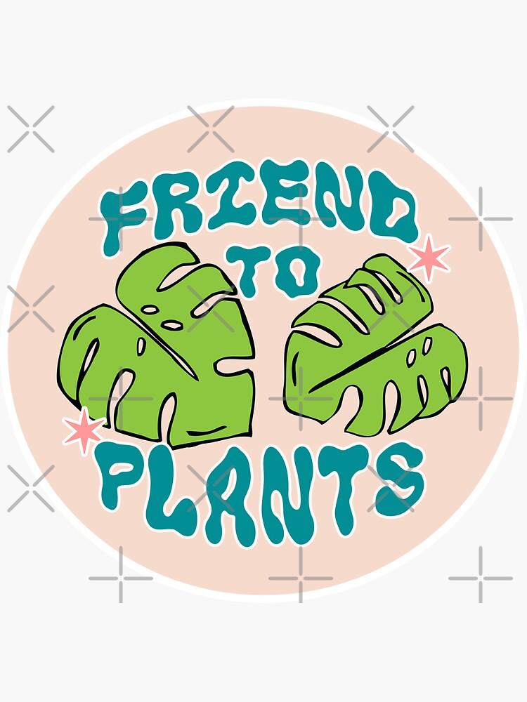 friend to plants   monstera leaf & stars by craftordiy