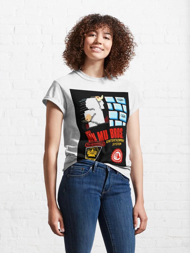 Alternate view of Super Mu Mu Bros Classic T-Shirt