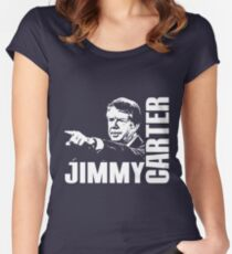 JIMMY CARTER Women's Fitted Scoop T-Shirt
