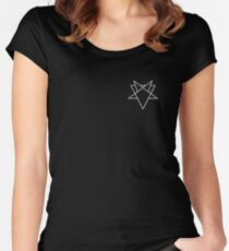 SLVYVLL - Getter // Borgore // Pouya Women's Fitted Scoop T-Shirt