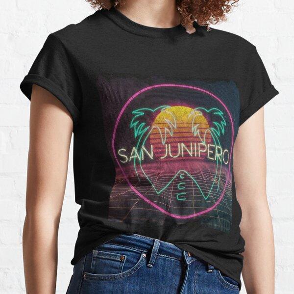 Cartel de Black Mirror San Junipero- Netflix Camiseta clásica