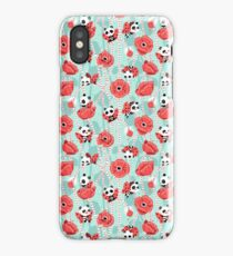 Poppy Pandas iPhone Case