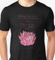 Lotus Flower - Rumi Quote - Inspirational  T-Shirt