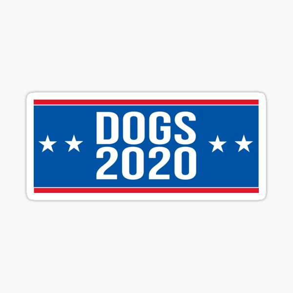 Dogs 2020 Sticker