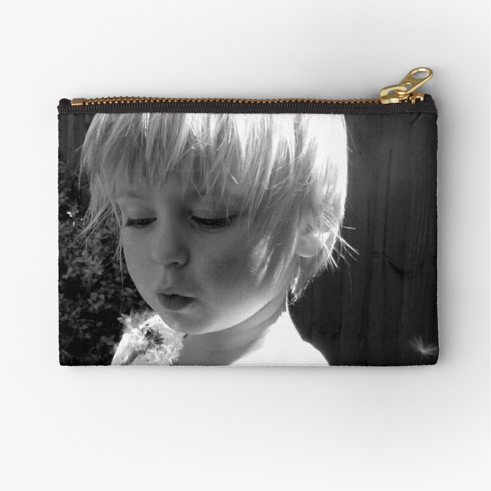 What's the time? Zipper Pouch