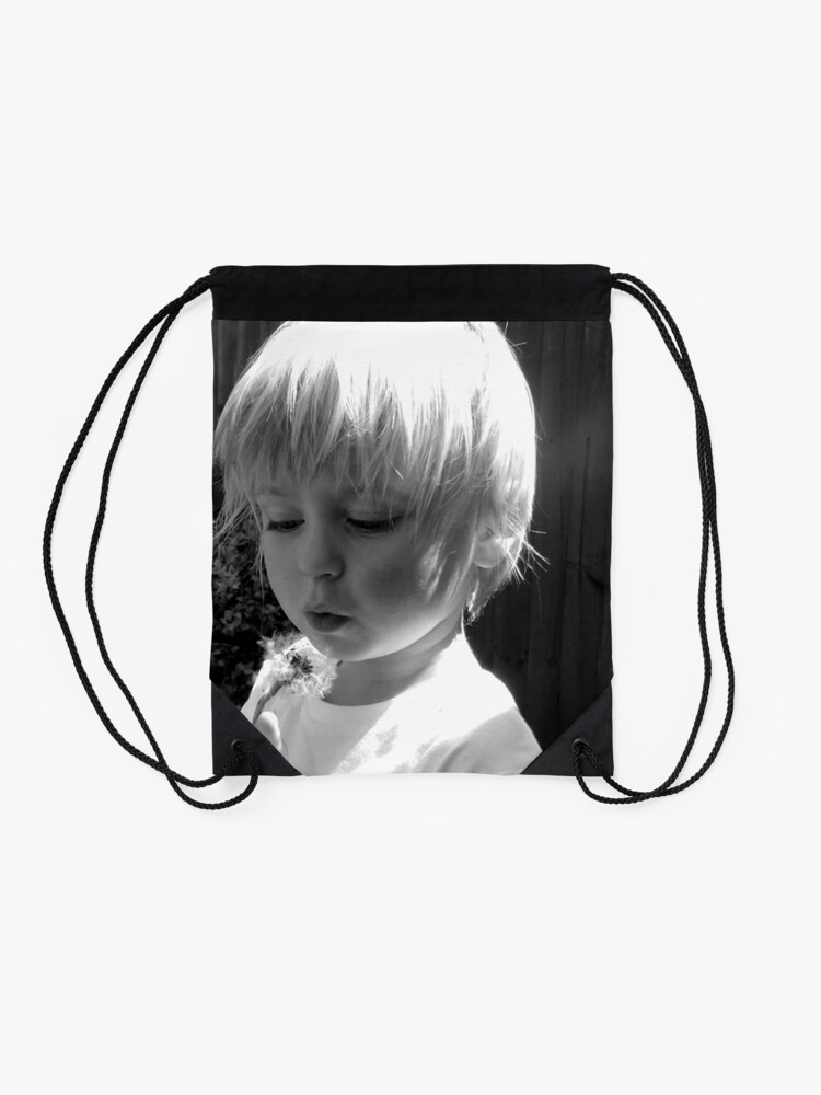 Alternate view of What's the time? Drawstring Bag