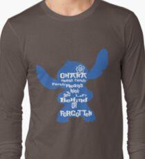 Stitch Ohana means family Long Sleeve T-Shirt