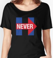 NEVER HILLARY Women's Relaxed Fit T-Shirt