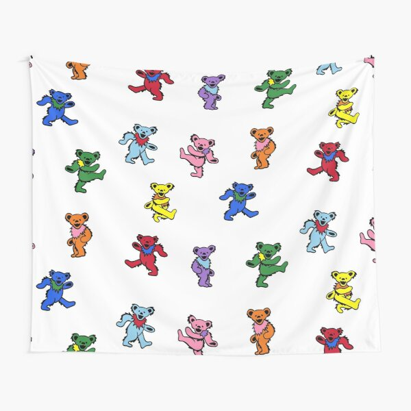 Mini Dancing Bears Tapestry
