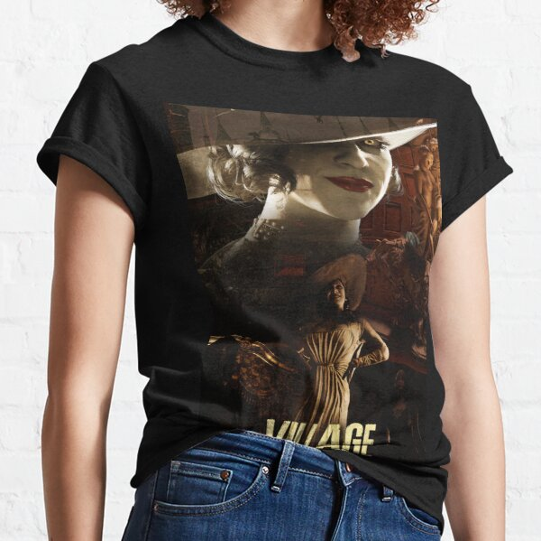 RE: VIllAGE - Tall Vampire Lady / Lady Dimitrescu Classic T-Shirt