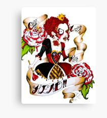 Red Queen Canvas Print