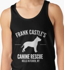 Frank Castle - Dog Rescue Tank Top