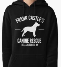 Frank Castle - Dog Rescue Pullover Hoodie