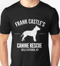 Frank Castle - Dog Rescue Unisex T-Shirt