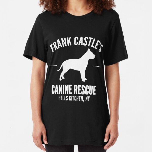 Frank Castle - Dog Rescue Slim Fit T-Shirt