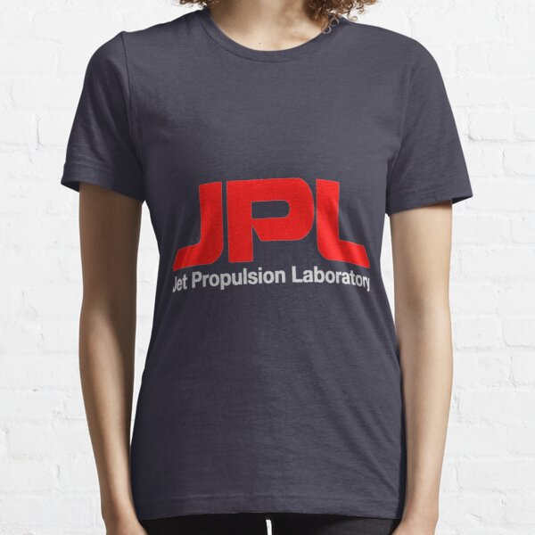 Jet Propulsion Laboratory (JPL) Logo for Dark Colors ONLY Essential T-Shirt