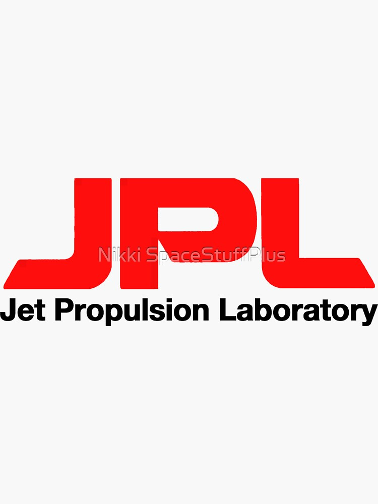 Jet Propulsion Laboratory (JPL) Logo for Light Colors ONLY by Spacestuffplus