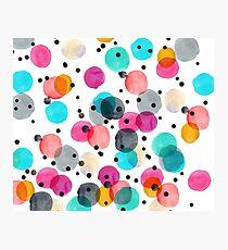 Festive Dots Photographic Print