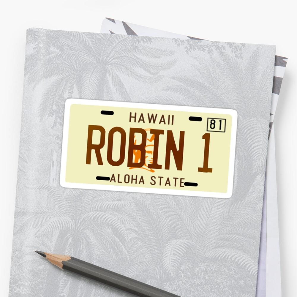 Magnum PI License Plate by aj4787