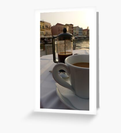 Filtered Greeting Card