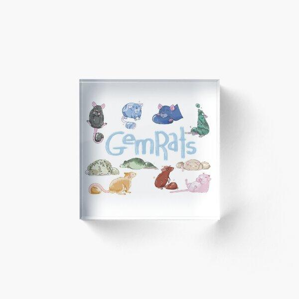 GemRats  Acrylic Block