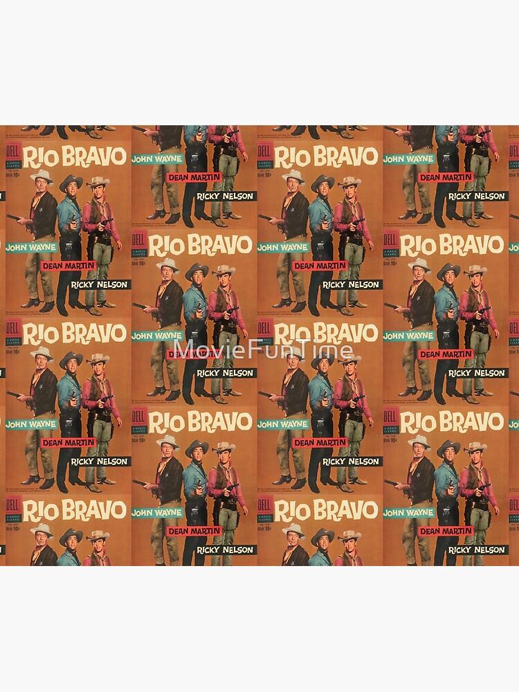 Rio Bravo Dell Comic Book Cover by MovieFunTime