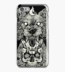 Shape Shift Black iPhone Case/Skin