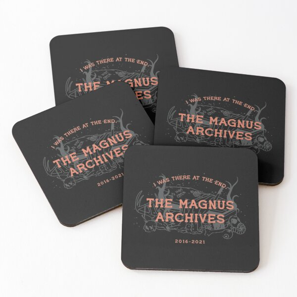 The Magnus Archives Coasters (Set of 4)