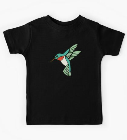 Hummingbird Pattern  Kids Clothes