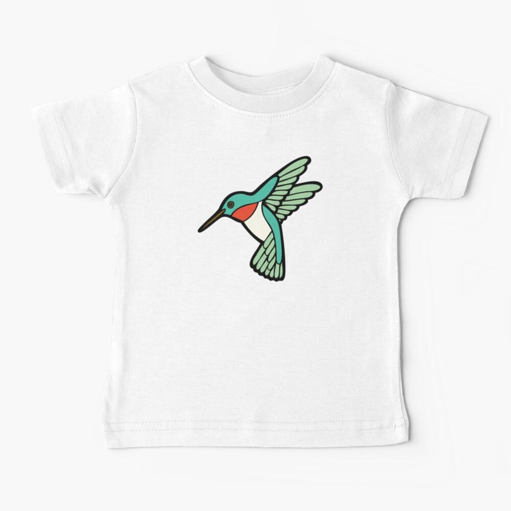 Hummingbird Pattern  Baby T-Shirt