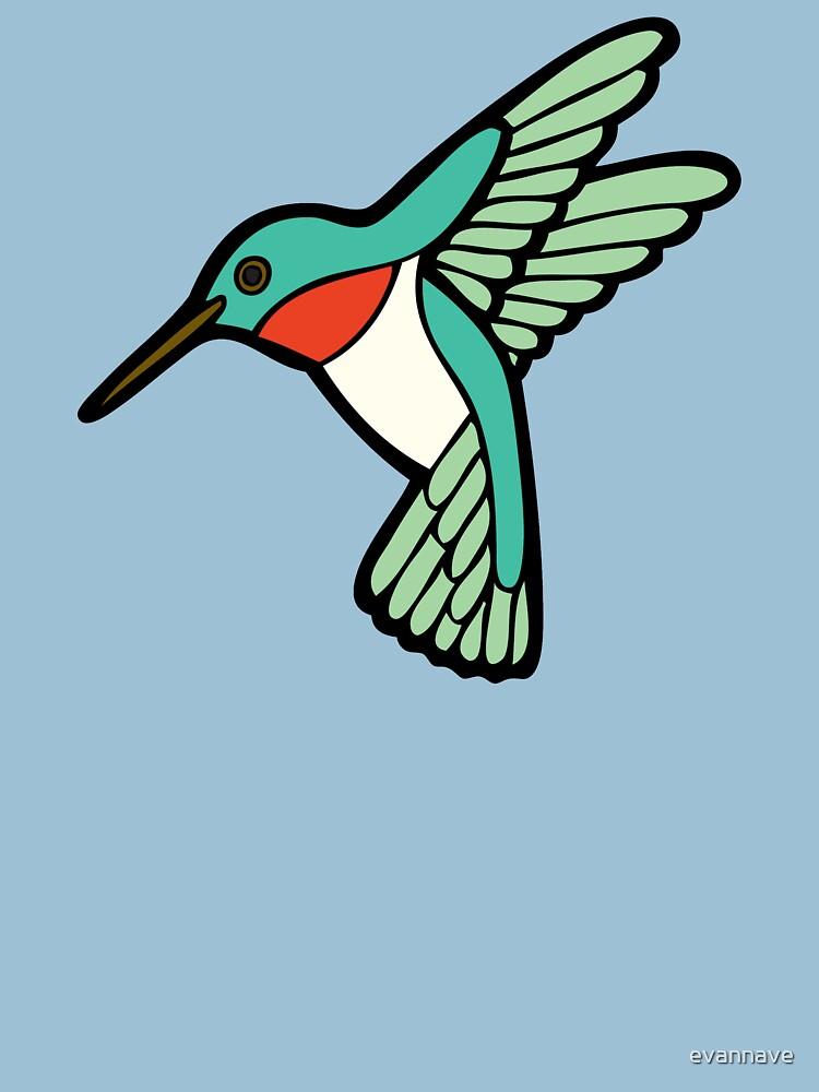 Hummingbird Pattern  by evannave