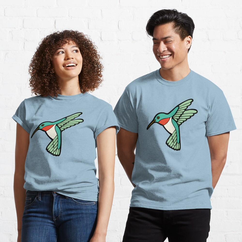 Hummingbird Pattern  Classic T-Shirt