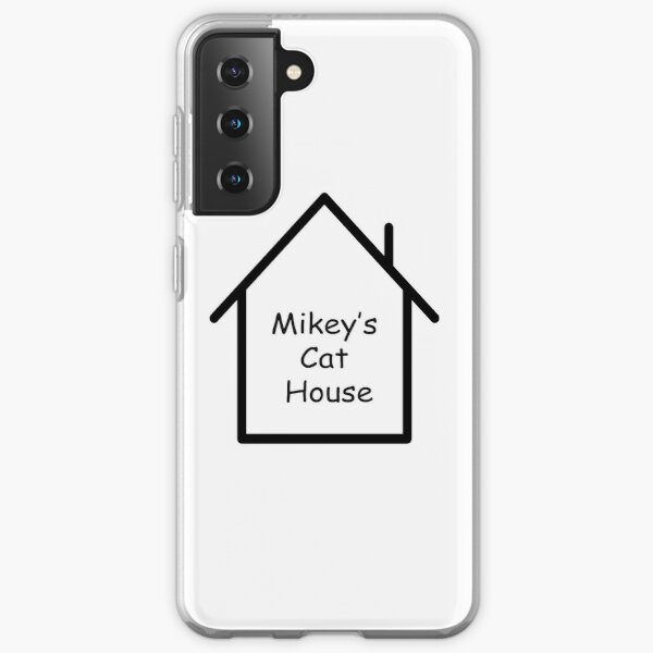 Mikeys Cat House on White Samsung Galaxy Soft Case