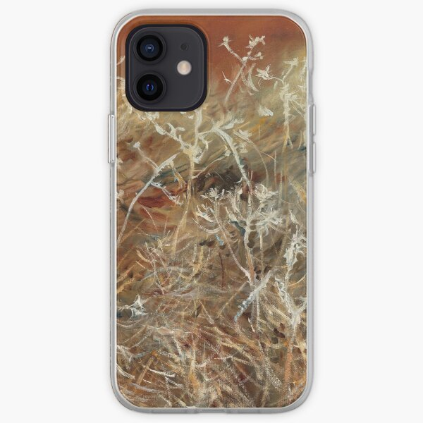 Thistles by John Singer Sargent iPhone Soft Case